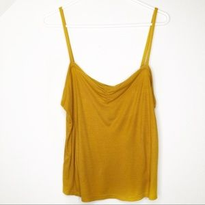 NEW Project Social T Yellow Crop Top